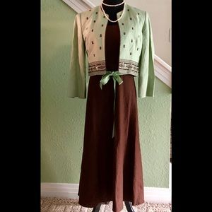 Beautiful linen dress (6) by Jessica Howard